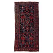 Sale 8890C - Lot 27 - Iran Antique Nomadic Bidjar Rug, Circa 1940, 239x114cm, Handspun Wool