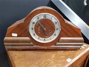 Sale 8912 - Lot 1002 - Art Deco Mantle Clock (accessories in clock)