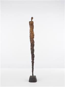 Sale 9221JM - Lot 5098 - KORRES Female Form Figure painted cast metal 57 x 6 x 7 cm signed base