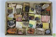 Sale 8508 - Lot 24 - Box of Specimens inc Malachite, Quartz and Others