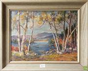 Sale 8604 - Lot 2077 - Mary Haslam - Lakeside, Oil