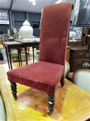 Sale 8657 - Lot 1037 - Art Deco Bedroom Chair