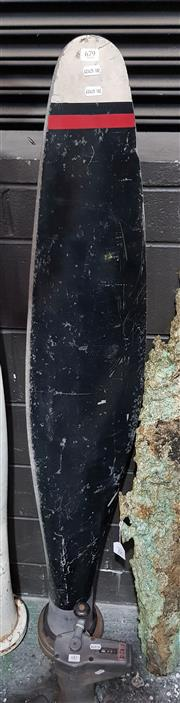 Sale 8809B - Lot 679 - Propeller Blade (151cm), markings on base are DWG 6379A-o, CHG, hSP5 manufacturing number P99366 CONT-16055