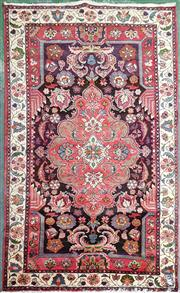 Sale 8831 - Lot 1068 - Hand Knotted Persian Rug (207 x 127cm)