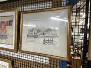Sale 8906 - Lot 2088 - Michael Cadic - Windsor Castle, watercolour, SLR