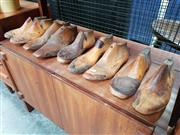 Sale 8930 - Lot 1009 - Collection of Vintage Timber Shoe Lasts