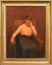 Sale 8358 - Lot 597 - Gordon Coutts (c1875 - 1937) - The Idle Hour 49.5 x 37cm