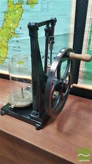 Sale 8409 - Lot 1005 - Antique Laboratory Vacuum Pump
