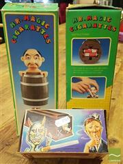 Sale 8409 - Lot 1012 - Boxed Vintage Cigarette Dispensers x 3