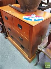Sale 8424 - Lot 1091 - Four Drawer Chest