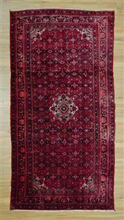 Sale 8585C - Lot 14 - Vintage Persian Husinabad 300cm x 155cm