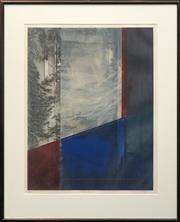 Sale 8655 - Lot 2014 - R Baker - Tatu II, c2000 78.5 x 60.5cm (frame: 106.5 x 87cm)