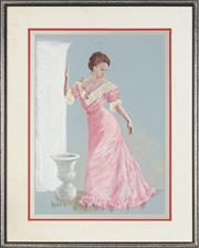 Sale 8759 - Lot 2040A - Artist Unknown - The Pink Gown, 1981 58.5 x 39.5cm