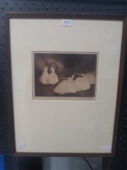 Sale 8833 - Lot 2002 - Harold Byrne  Les Sylphides etching ed. 10/25, signed
