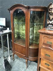 Sale 8868 - Lot 1178 - Bow Front Display Cabinet