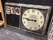 Sale 9006 - Lot 1006 - French Inspired Calendar Clock (H:104 x W:63cm)