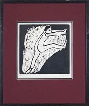 Sale 8394 - Lot 576 - Robert Dickerson (1924 - 2015) - Aspects of Dance Series 30 x 30cm