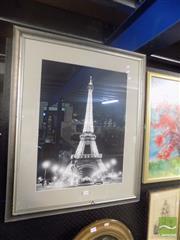 Sale 8483 - Lot 2040 - Paris Poster Framed