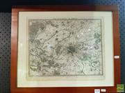 Sale 8544 - Lot 2098 - Engraved Map, Paris, 1832