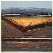 Sale 8652A - Lot 5009 - Sandra Leveson (1944 - ) - Windward Flight, 1992 70 x 70.5cm (frame: 98.5 x 96.5cm)