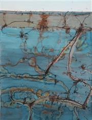 Sale 8642 - Lot 545 - John Olsen (1928 - ) - Lake Eyre - The Desert Sea IX 94 x 72cm