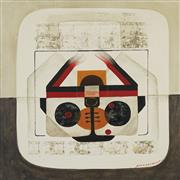 Sale 8738 - Lot 590 - Paco Gorospe (1939 - 2002) - Untitled 75 x 75cm