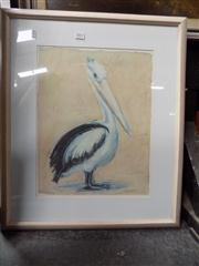 Sale 8441T - Lot 2035 - Pair of Framed Decorative Prints Pelican