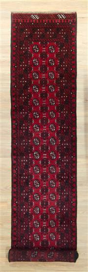 Sale 8576C - Lot 96 - Afghan Turkman 476cm x 80cm