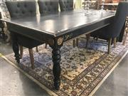 Sale 8740 - Lot 1014 - Timber Meissner Dinning Table