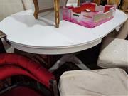 Sale 8826 - Lot 1047 - Painted Extension Single Pedestal Table