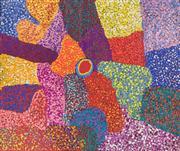 Sale 8288A - Lot 61 - Tjuruparu Geoffrey Watson (1940 - ) - Kapi Piti, 2007 158 x 196cm
