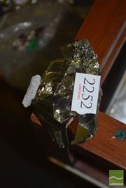 Sale 8509 - Lot 2252 - Pyrite Crystal Cluster (Peru)