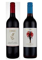 Sale 8520W - Lot 98 - 12x Evoi Wines, Margaret River. 6x NV 'Backenal' Red. 6x 2014 Cabernet Sauvignon.  NV 'Backenal' Red: 90/100 Ray Jordan To...