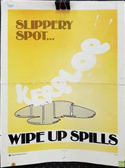 Sale 8607 - Lot 1065 - Two Paper Safety Posters