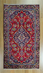 Sale 8625C - Lot 69 - Persian Kashan 125cm x 74cm