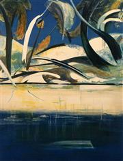 Sale 8652A - Lot 5014 - Arthur Boyd (1920 - 1999) - Shoalhaven Quartet I, 1988 76.5 x 59cm