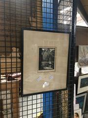 Sale 8711 - Lot 2091 - Lewis Davis - The Pond, Woodcut