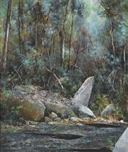 Sale 8773 - Lot 504 - Alex Andrews (1947 - ) - Smiths Creek, Hawksbury 58.5 x 49.5