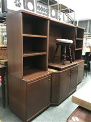 Sale 8822 - Lot 1237 - Parker Furniture Wall Unit