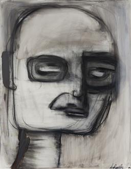 Sale 9127 - Lot 2037 - Melissa Labozzetta - Portrait II 87 x 67 cm (frame: 91 x 70 x 6 cm)