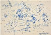 Sale 8401 - Lot 592 - Francis Lymburner (1916 - 1972) - Sketches various sizes