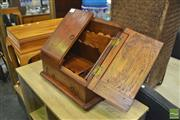 Sale 8440 - Lot 1061 - Timber Compendium With Sectioned Compartments