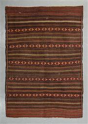 Sale 8480C - Lot 22 - Persian Kilim Somak 140cm x 95cm