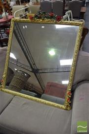 Sale 8515 - Lot 1027 - Ornate Framed Mirror