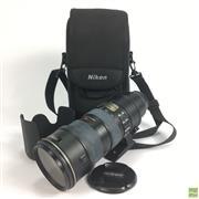 Sale 8648A - Lot 21 - Nikon ED AF-S NIKKOR 70-200mm 1:2 8G Lens