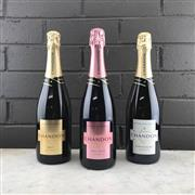 Sale 8970W - Lot 44 - 3x NV Chandon, Yarra Valley - Brut, Brut Rose & Blanc de Blancs