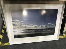 Sale 9113 - Lot 2094 - A group of 4 decorative photographs of the beach,  frame size: 70 x 93 cm