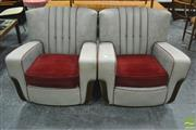 Sale 8364 - Lot 1086 - Pair of Art Deco Club Chairs