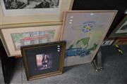 Sale 8441T - Lot 2038 - Pair of Framed Decorative Prints, various sizes