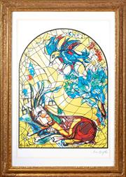 Sale 8562A - Lot 60 - After Marc Chagall - The Tribe of Naphtali total size inc frame 106 x 75